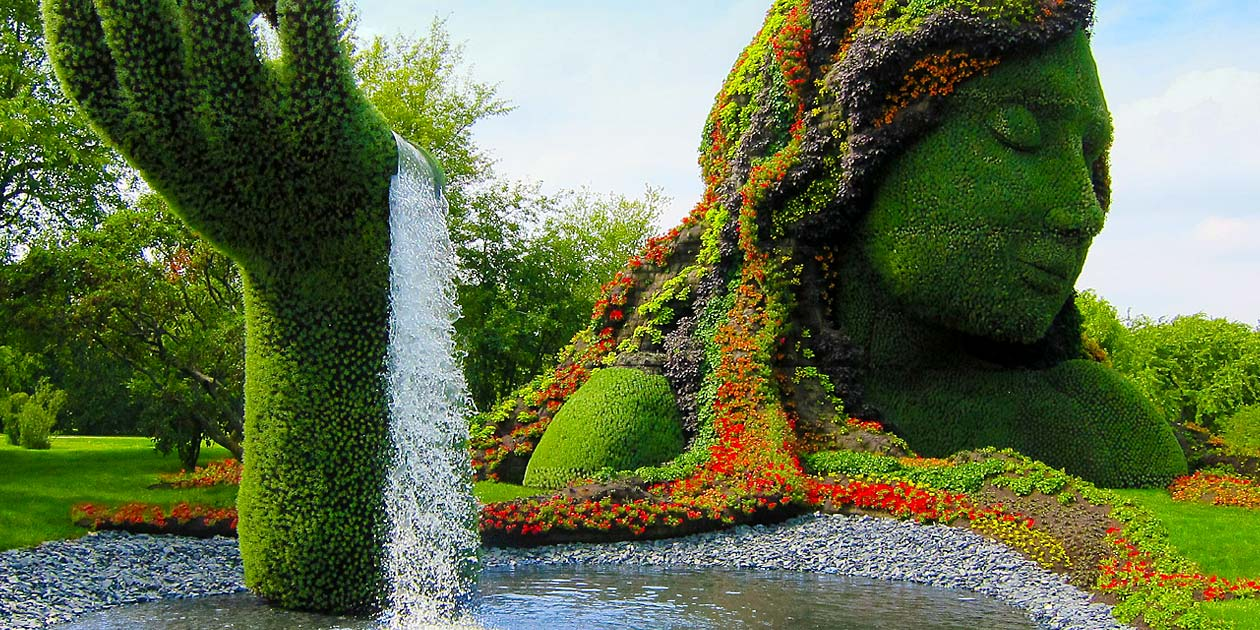 Tipiary Fountain Montreal Canada