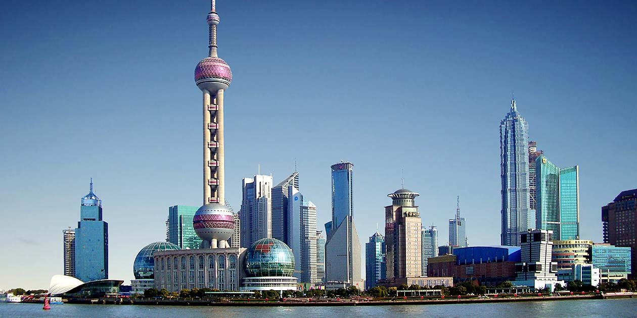 Bund Panorama in China