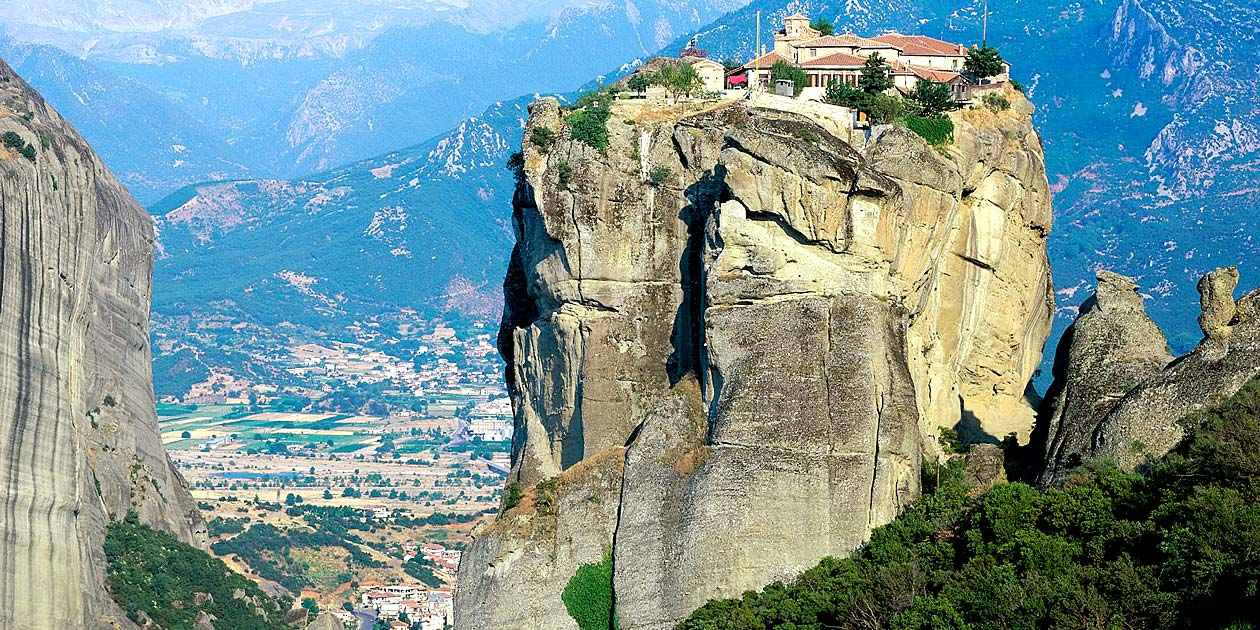 Monestry of Holy Ttrinity Meteora